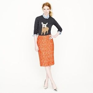 J.Crew No. 2 pencil skirt corkscrew tweed (SK3)